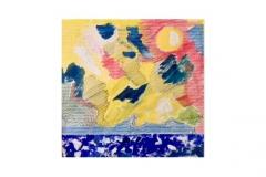 """n. 12""""Sole, mare e cielo"""" - tecnica mista, 36x48 - 2012"""