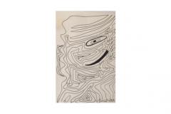 """n. 18""""Ritratto"""" - disegno a china, 18x23 -1993"""